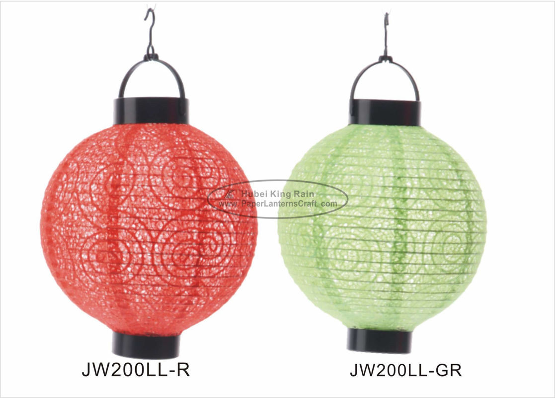 buy Eyelet Indoor Paper Lantern Lights , Battery Operated Paper Lanterns For Weddings online manufacturer