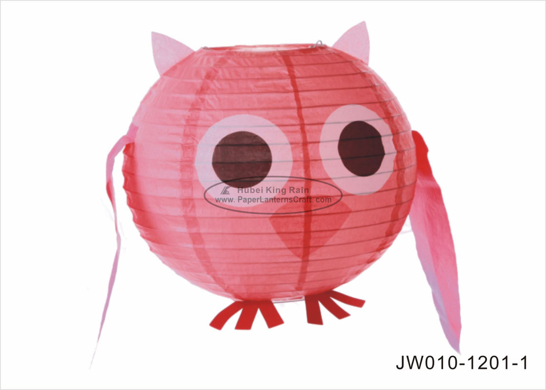 "buy Pink Blue Angry Cute  Birds Kids Paper Lanterns , 10"" 12"" Animal Print Hanging Paper Lanterns online manufacturer"