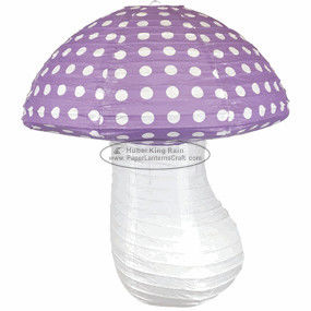 buy Children Paper Lanterns mashroom dots table Hanging baby shower decoration online manufacturer